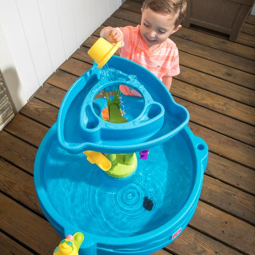 step2 vacation time bundle summer showers splash tower water table