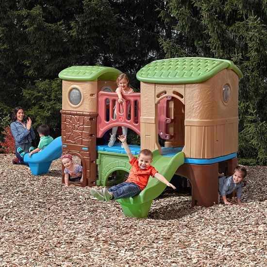 step2 Entertain & Enjoy Bundle clubhouse climber