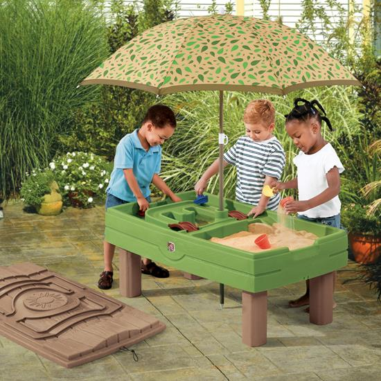 step2 Outdoor Playtime Bundle Sand & Water Activity Center
