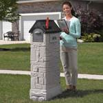Step2 MailMaster StoreMore Mailbox rear mail door