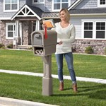 Step2 MailMaster Express Plus Mailbox front yard