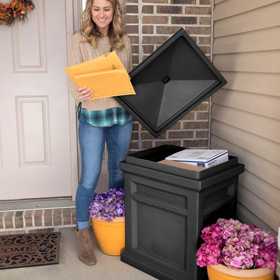 Step2 Express Parcel Delivery Box -  Black mail
