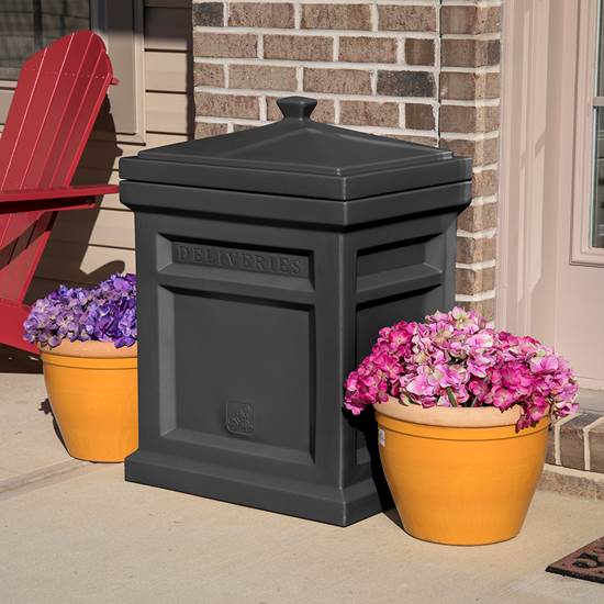 Step2 Express Parcel Delivery Box -  Black decor