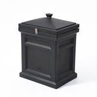 Deluxe Package Delivery Box™ - Elegant Black