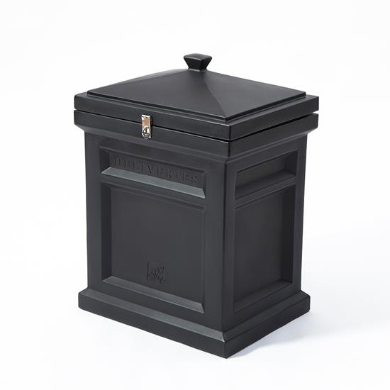 Step2 Deluxe Package Delivery Box - Elegant Black