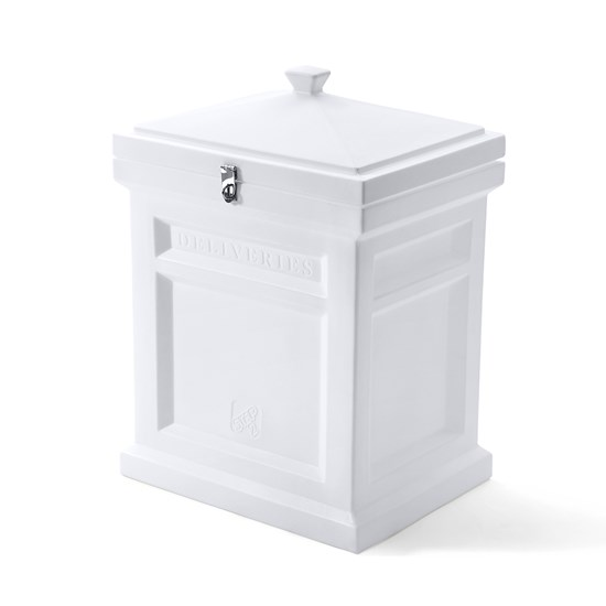 Step2 Deluxe Package Delivery Box - Estate White