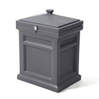 Deluxe Package Delivery Box™ - Manor Gray