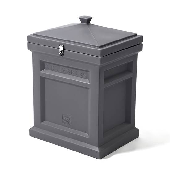 Step2 Deluxe Package Delivery Box - Manor Gray