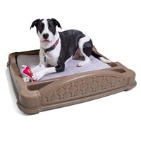 Close 'N' Cozy Hideaway Dog Bed™-Brown