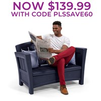 Patio Loveseat™ -Midnight Blue