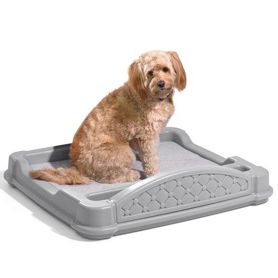 step2 Close 'N' Cozy Hideaway Dog Bed-Grey
