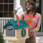 Step2 MailMaster Villager Mailbox rear door