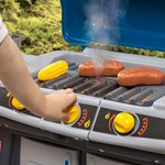 Step2 Just Like Home Sizzle & Smoke Barbeque Grill control knobs