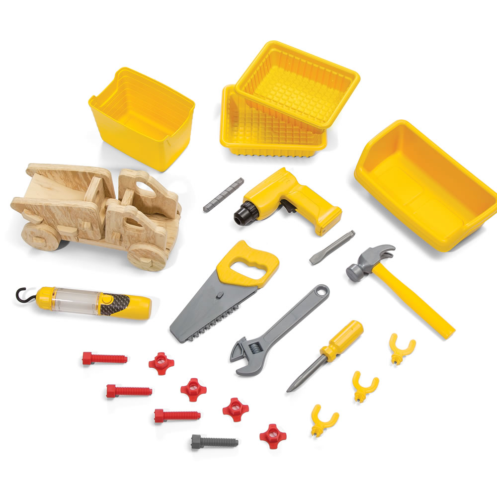 Step2 Just Like Home Handyman Workbench tools and accessories