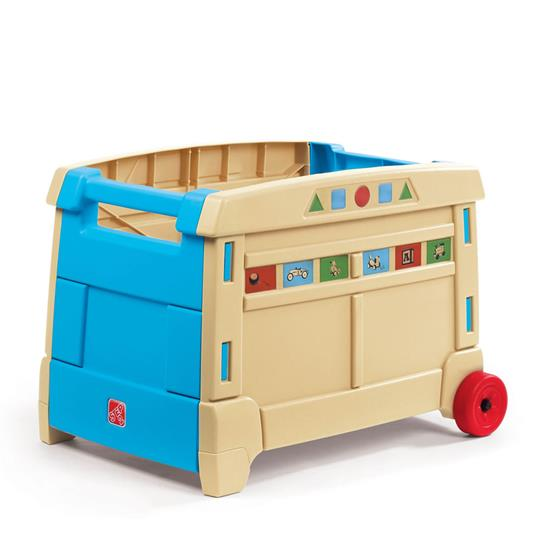lift roll toy box kids toy box step2. Black Bedroom Furniture Sets. Home Design Ideas