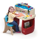 Deluxe Art Master Desk™ - Red