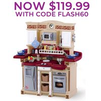 Step2 Lifestyle Deluxe Kitchen   Kids Play Kitchens Step2