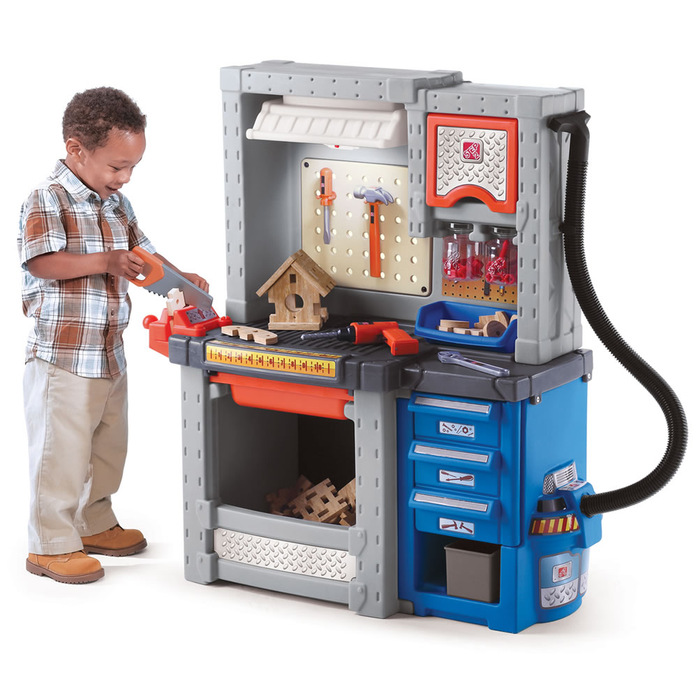 Best Pretend Play Toys For Kids : Deluxe workshop kids pretend play step