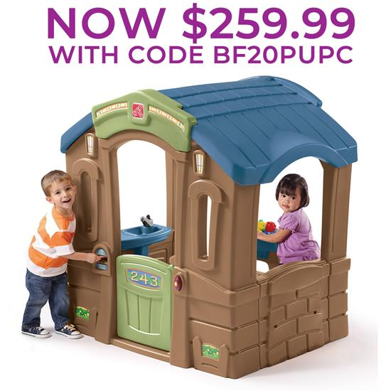 Play Up Picnic Cottage Kids Playhouse Step2