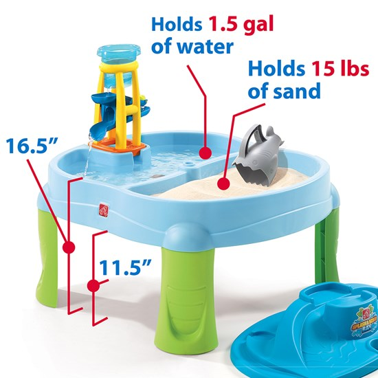 accessories included in step2 splash and scoop bay