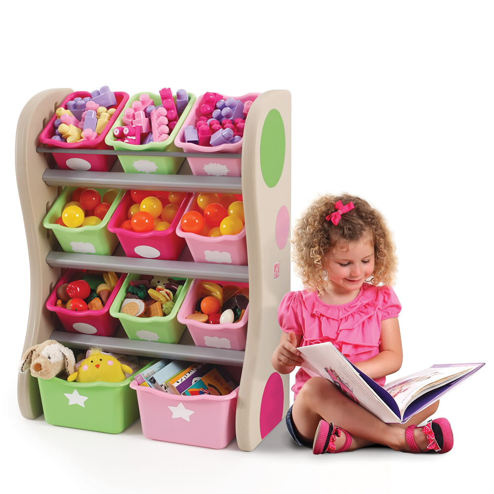 Step2 Fun Time Room Organizer Pink