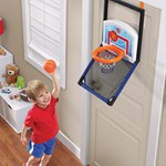 Step2 Floor to Door Basketball hung from door