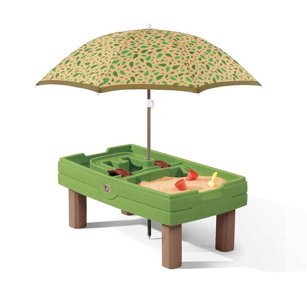 Step2 Naturally Playful Sand & Water Activity Center umbrella