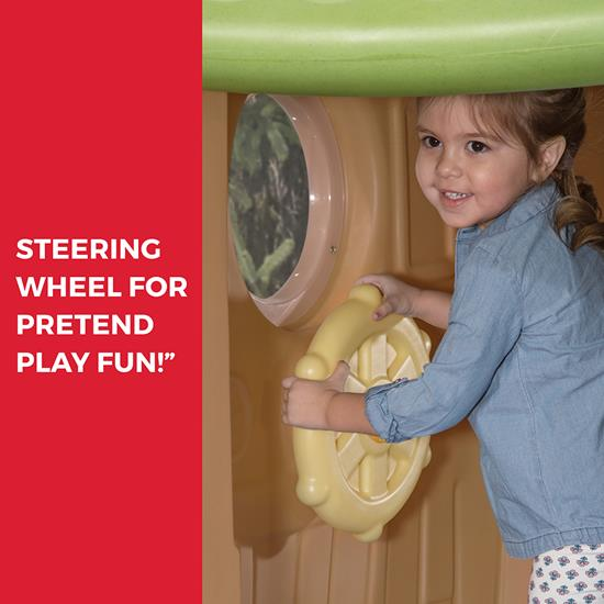 Step2 Clubhouse Climber steering wheel
