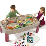 Deluxe Canyon Road Train & Track Table™ - Red