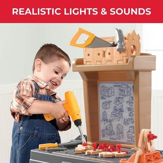 Construction Tools Step2 Real Projects Toy Workshop Toys /& Games
