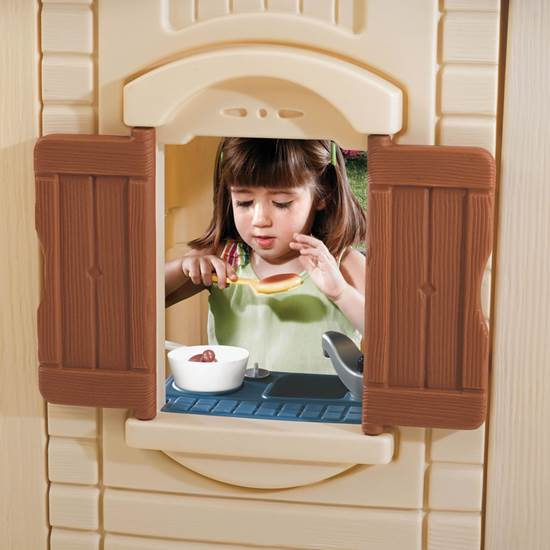 Step2 Naturally Playful  Front Porch Playhouse Sink and Stovetop
