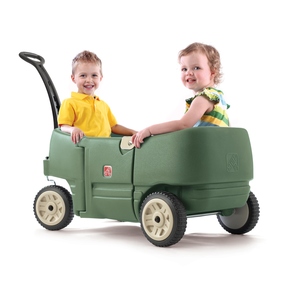Step2 Wagon For Two Plus Green