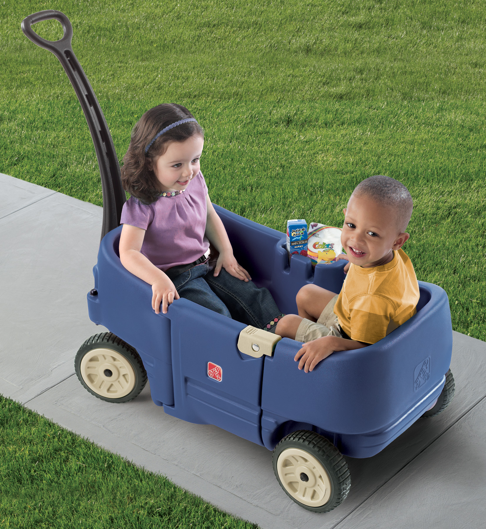 Wagons For Toys : Wagon for two plus kids step
