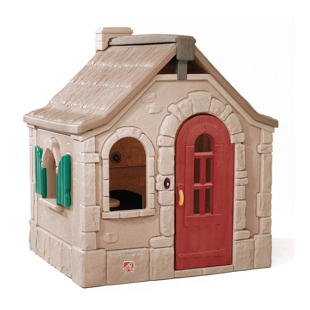 naturally playful storybook cottage kids playhouse step2 rh step2 com Country Cottage step2 naturally playful countryside cottage