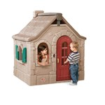 Naturally Playful® StoryBook Cottage - Tan, Maroon and Teal