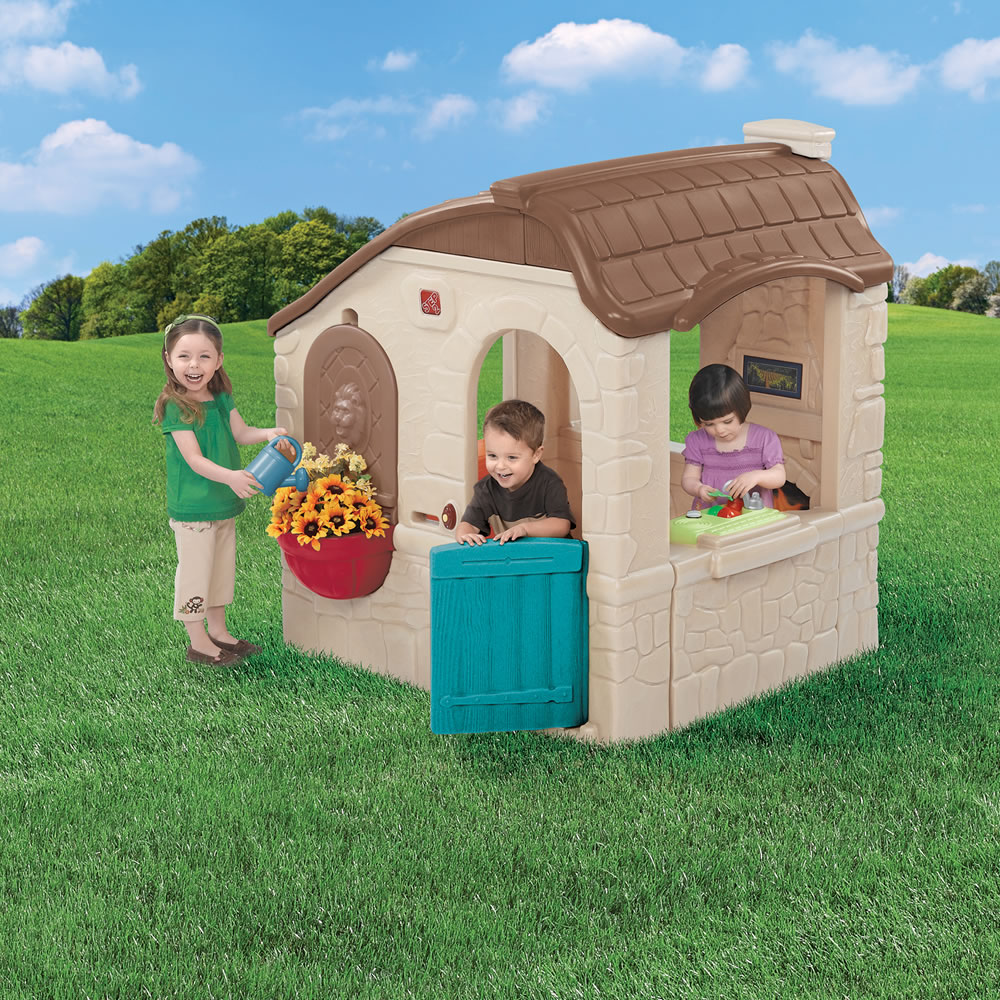 naturally playful countryside cottage kids playhouse step2 rh step2 com step2 naturally playful countryside cottage step2 naturally playful countryside cottage