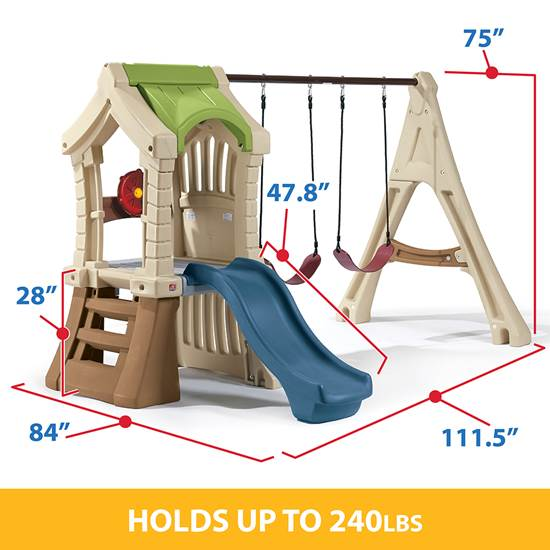 Step2 Play Up Gym Set Swings