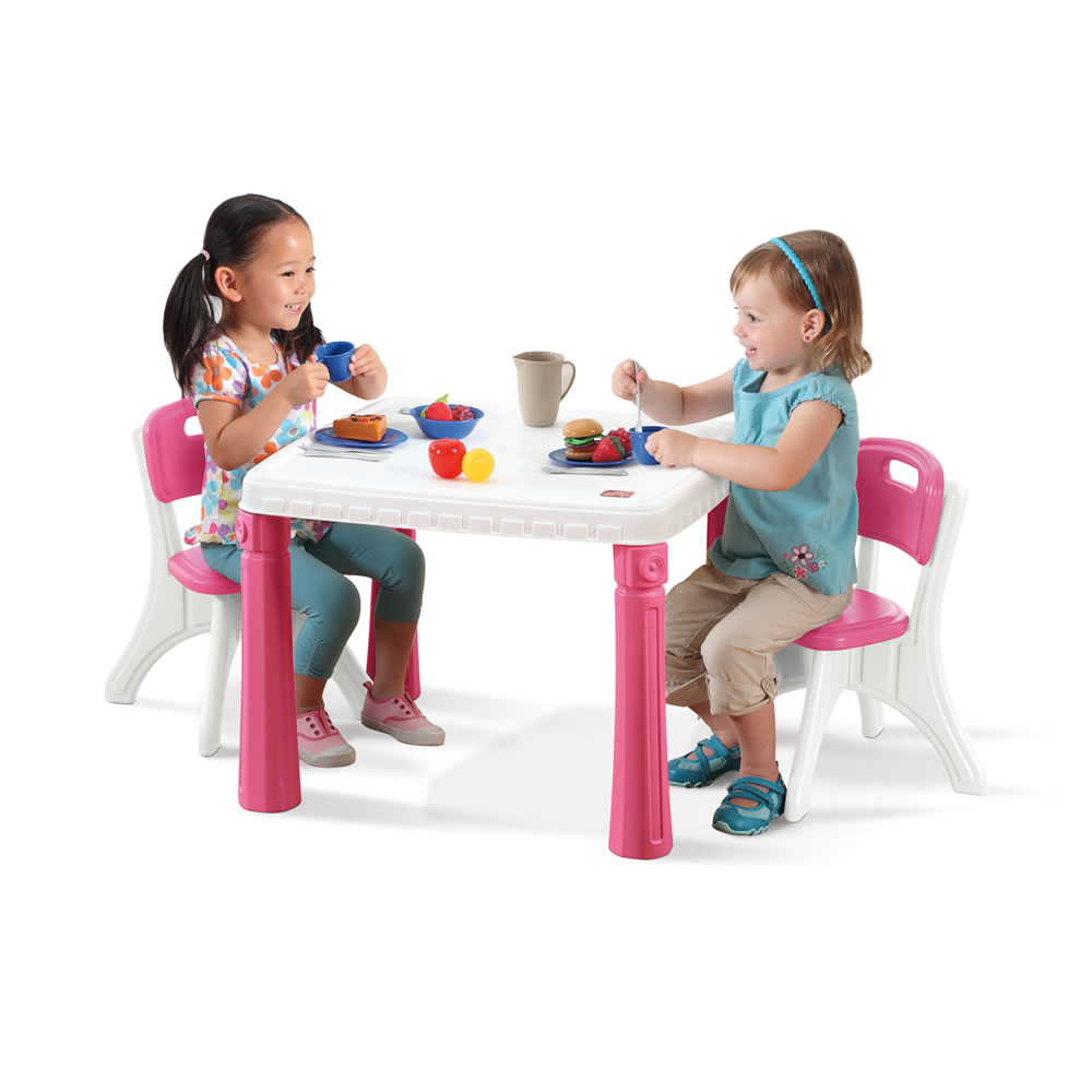 Lifestyle kitchen table chairs set kids table chairs for Kids sitting furniture