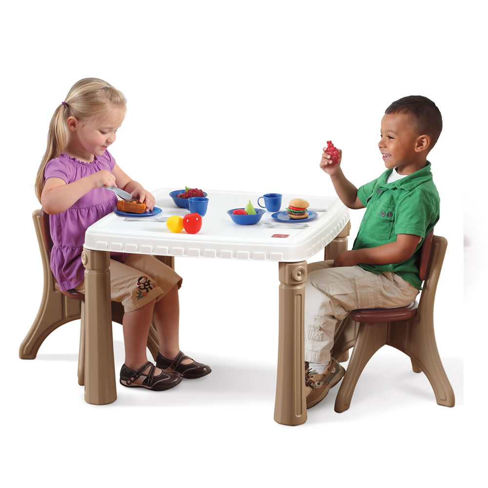 Step2 Deluxe Kitchen Play Set Table and Chairs
