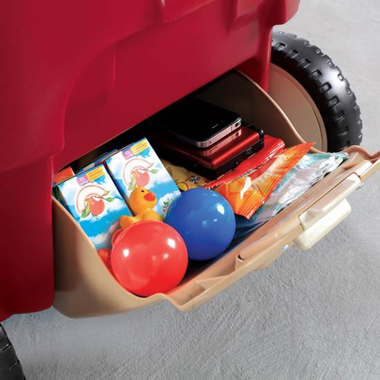 Step2 All Around Canopy Wagon Rear Storage Compartment