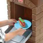 Step2 Fixin' Fun Outdoor Grill Brick Oven