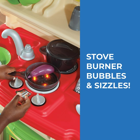 Step2 LifeStyle Custom Kitchen Brights Stove