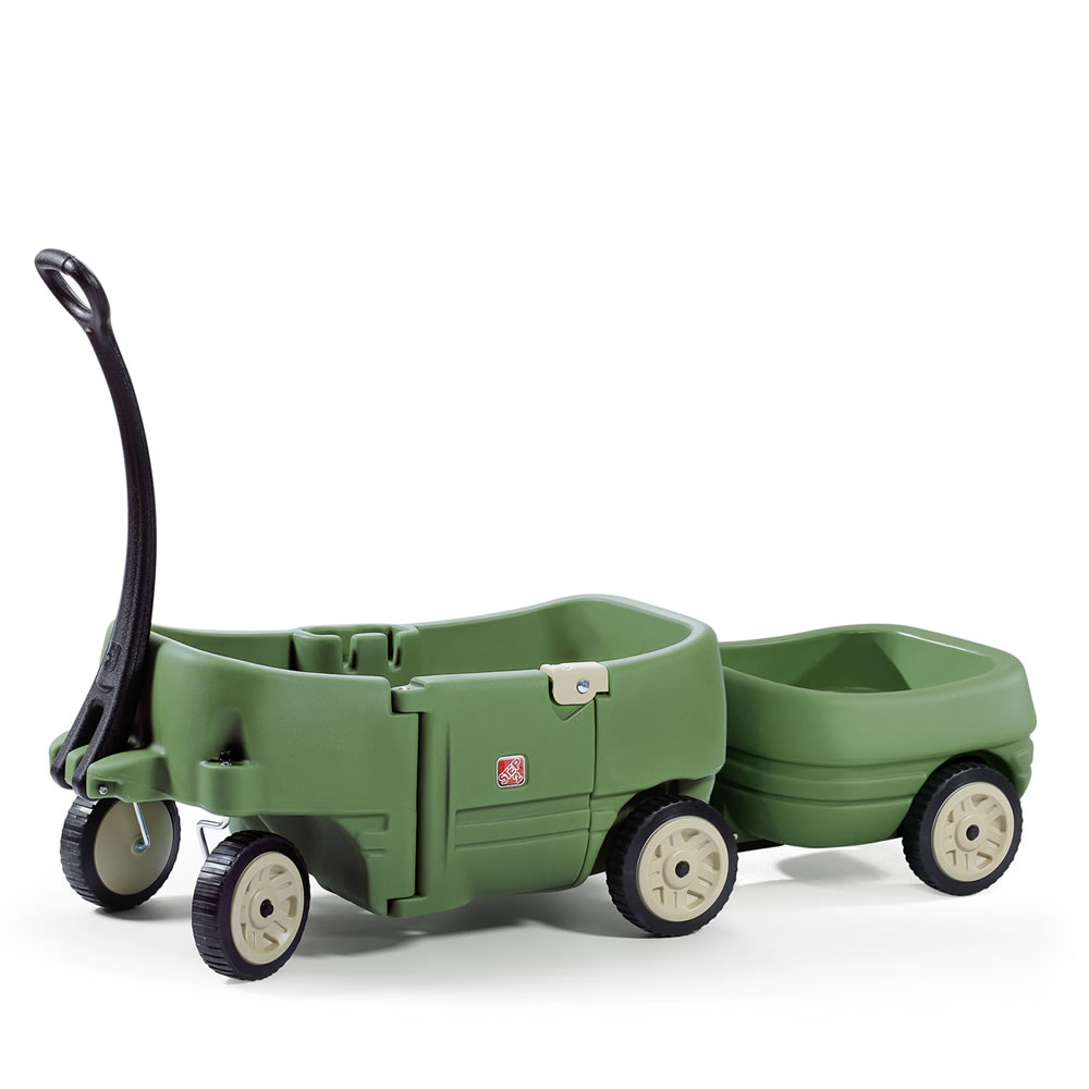 Step2 Wagon for Two & Tag Along Trailer Willow