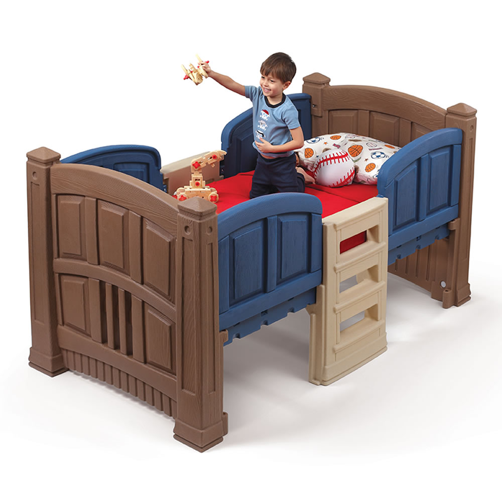 Step2 Boys Loft U0026 Storage Twin Bed