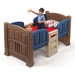 Boy's Loft & Storage Twin Bed