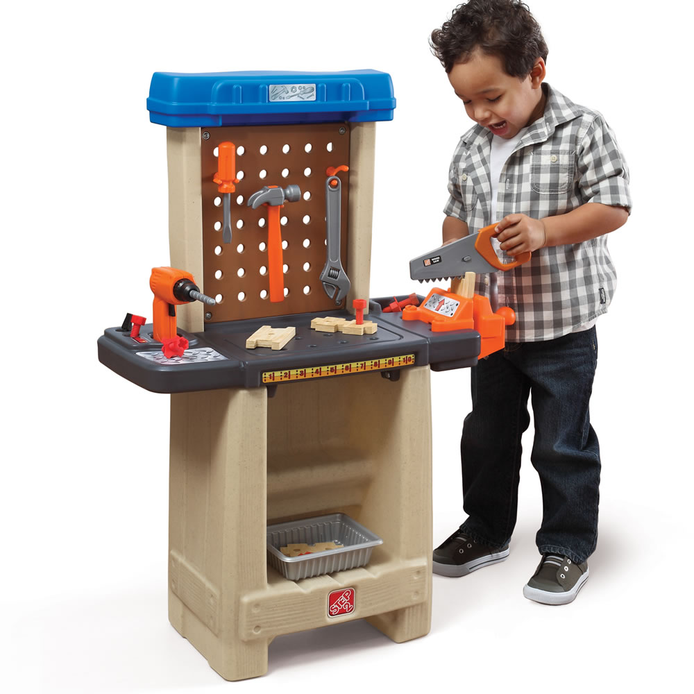 Toys For Work : Handy helper s workbench kids pretend play step