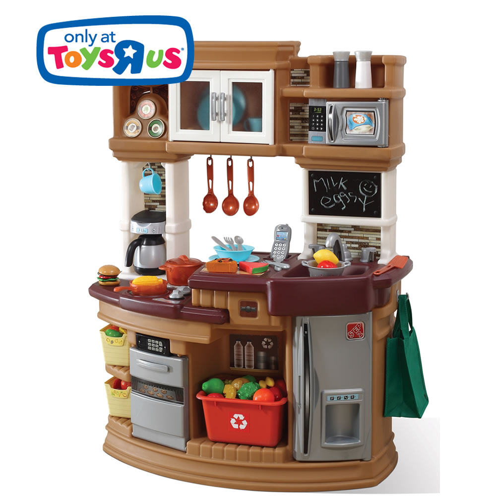 Lil 39 chef 39 s gourmet kitchen retailer exclusives step2 for Kitchen set at toys r us