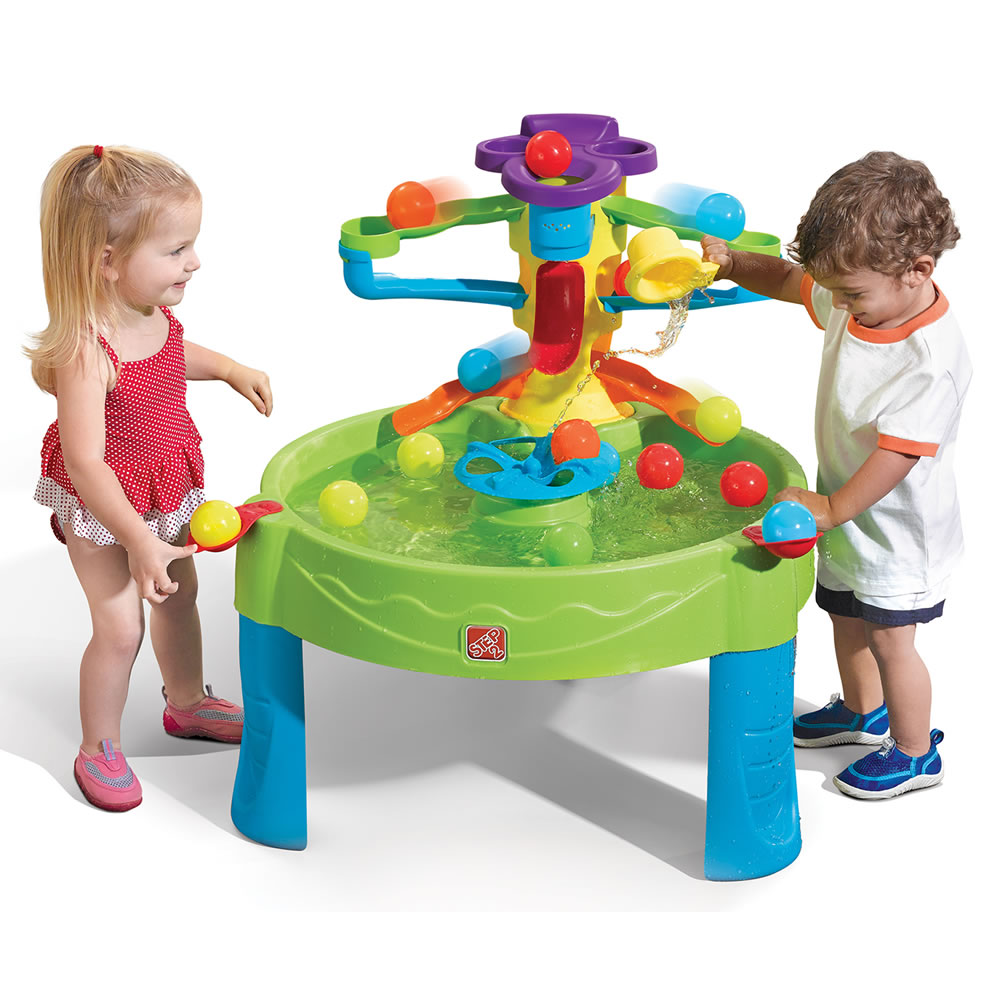 Toys For 2 And Up : Busy ball play table kids sand water step