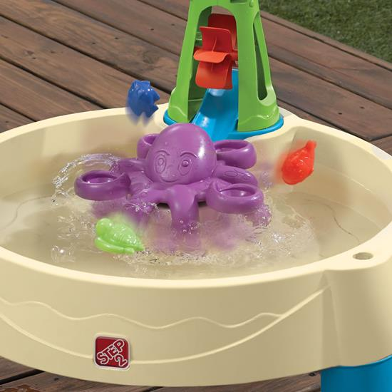 Step2 Wild Whirlpool Water Table Octopus Water Spinner