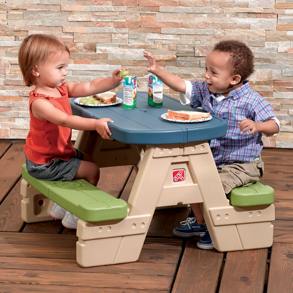 Sit U0026 Play Picnic Table With Umbrella™
